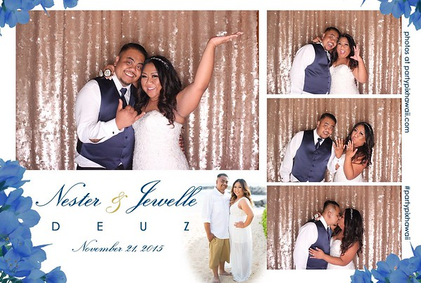 Jewelle & Nester's Wedding (LED Open Air Photo Booth)