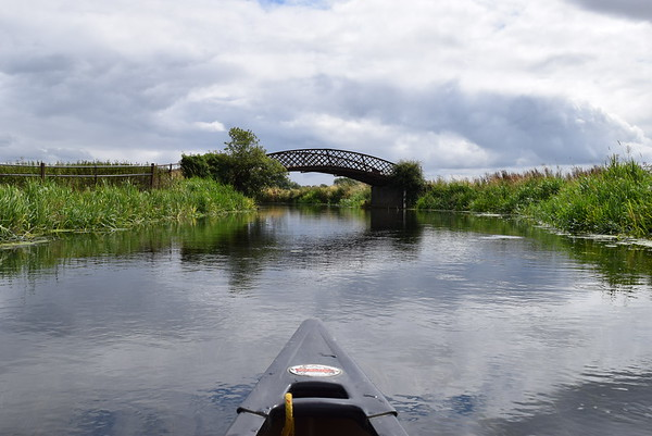 Canoeing River Nene with Canoe2
