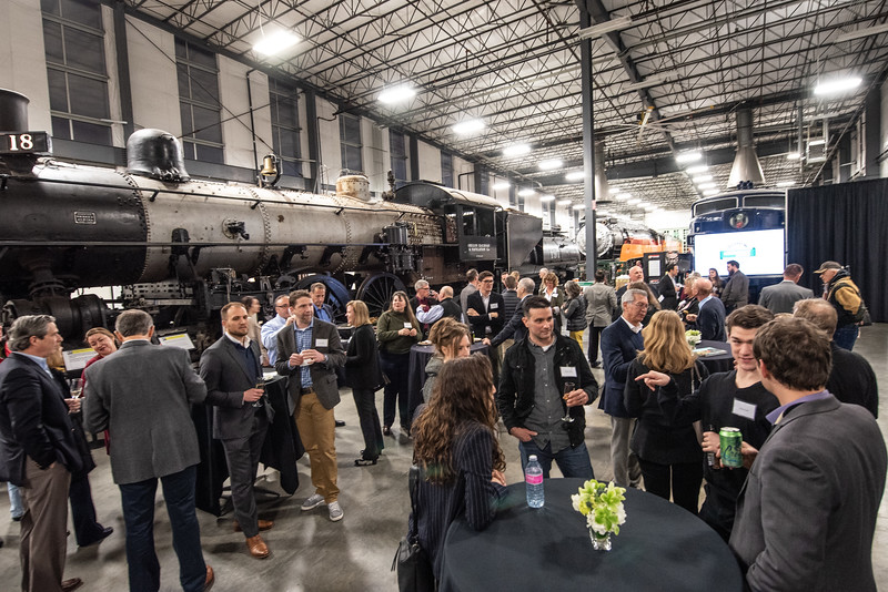 Gunderson 100 year celebration kick-off event at the Oregon Rail Museum
