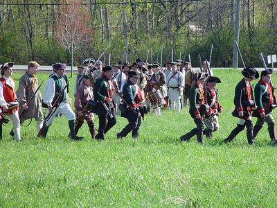 Mabee Farm Rev war reenactment 5/03