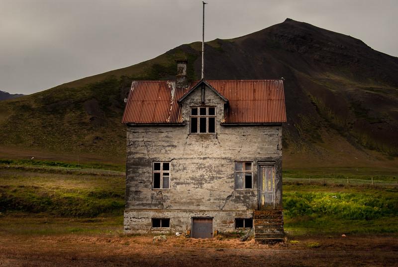 Abandoned Fishing Farm