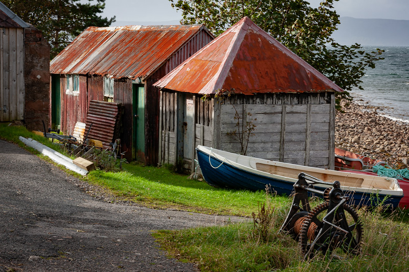 Old Fishing Sheds