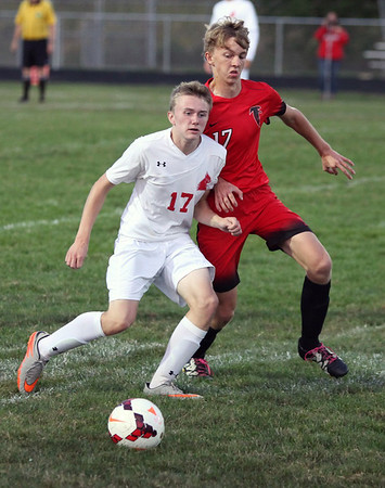 091416 Firelands vs. Brookside in boys soccer