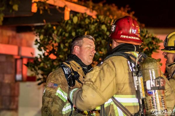 Emerald Bay Cliffhanger Wall Fire - January 23rd, 2017
