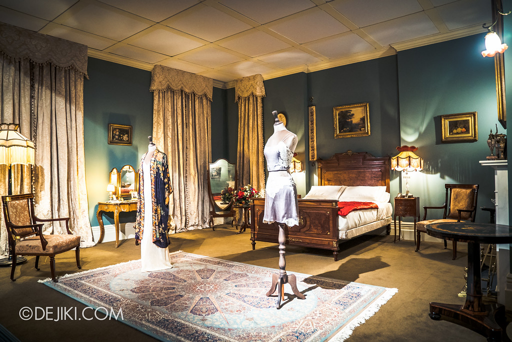 Downton Abbey The Exhibition - Lady Mary's Bedroom