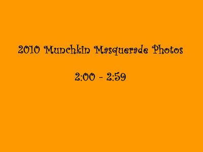 2010 Munchkin Masquerade