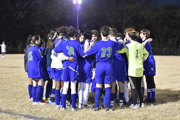 Varsity Soccer vs Dallas Covenant 12.3.18