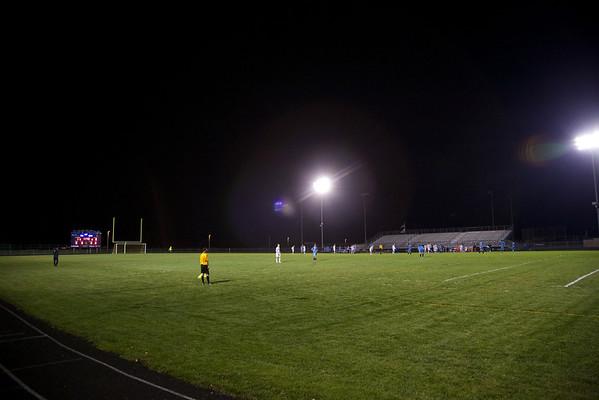 Bay Port Boys Varsity Soccer 10-8-2013