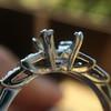 Antique 5-stone Setting, Platinum 7