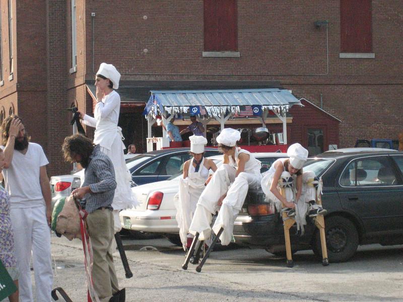 Stilters prepare