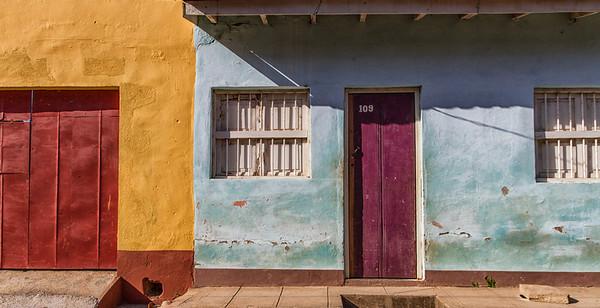windows and doors of Cuba