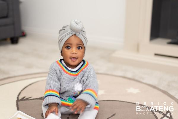 Olivia 5 Months