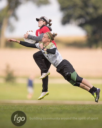 9-29-16 Madison Heist v Seattle Riot Women's Division - USA Ultimate Nationals
