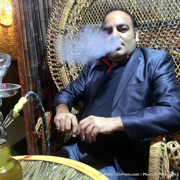 Hookah Time For Dr Prem