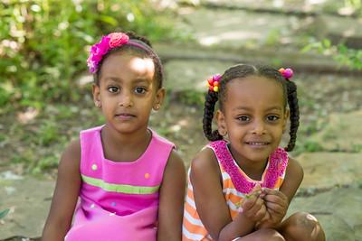 Sophia and Eden S