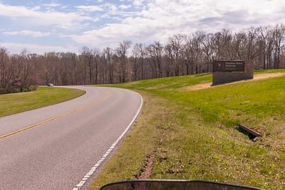 Natchez Trace Parkway - April