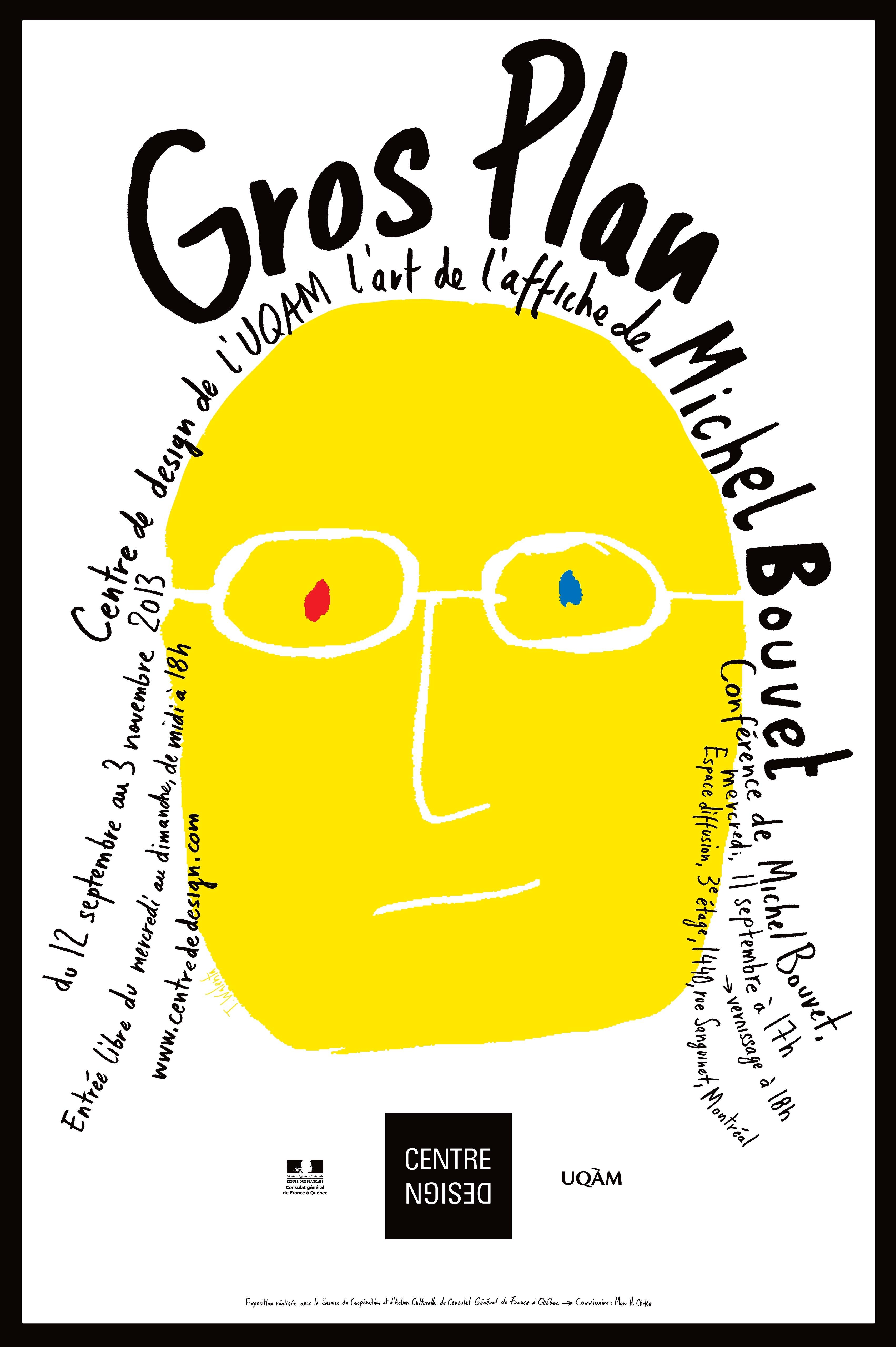 2013 - Exposition - L'art de l'affiche de Michel Bouvet