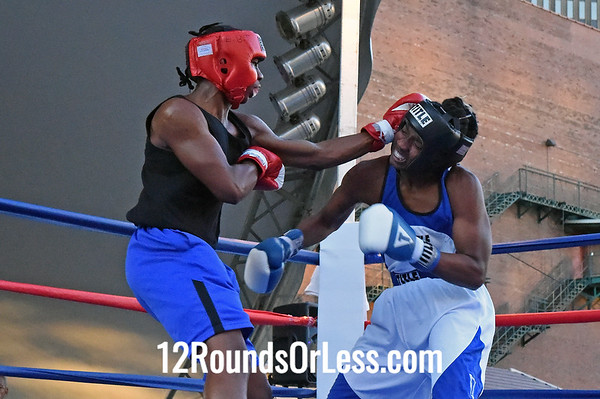 Bout #6 Abraham Graham, Cleveland/EBT Boxing -vs- Darius Reed, Akron/BSBA, 157 lbs