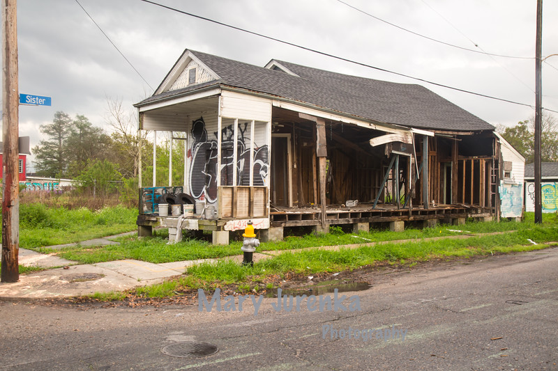 Hurricane Katrina Damage Ten Years Later