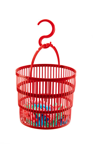 Gelmar Collapsible Peg Basket with S-hook
