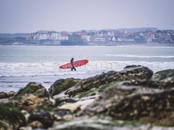 Surf à la Pointe aux oies 28/12/2019