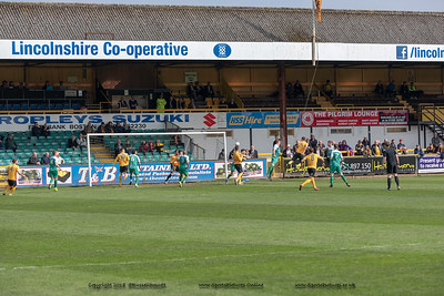 Boston United vs Brtadford Park Ave 1-2