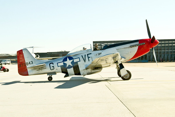 Coming Together to Preserve an Old War Bird Part II The P-51 Mustang