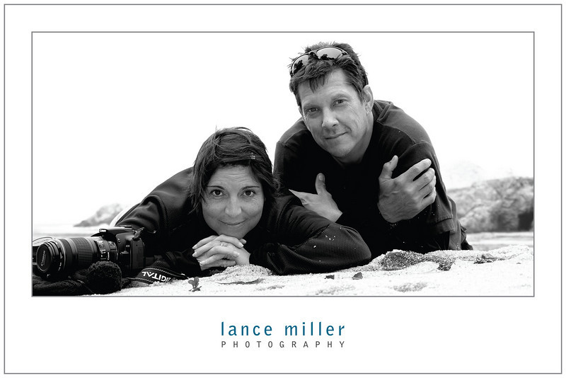 Lance and Julia. Poster 18x12