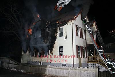 Melrose, MA - 4th Alarm, 43 Baxter Street, 2-3-08