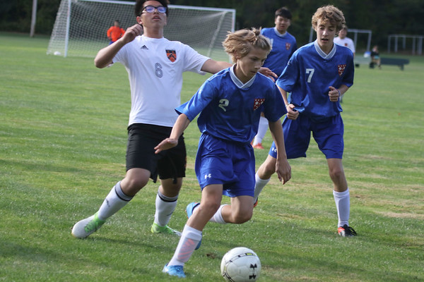 Boys' JV2 Soccer vs. KUA | October 6