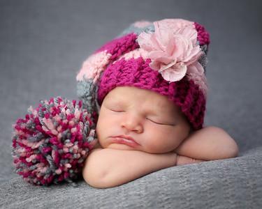 Hayes Peeks Newborn
