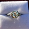 1.88ctw Platinum Filigree Solitaire Ring by C.D. Peacock, GIA S-T, VS 36