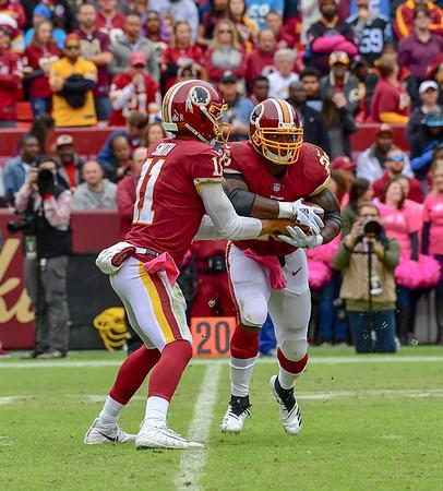 Football: Washington Redskins vs. Panthers 10.14.2018 (By Al Shipman)