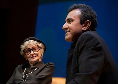 One-of-a-kind Broadway legend Elaine Stritch + brain scientist Murali Doraiswamy