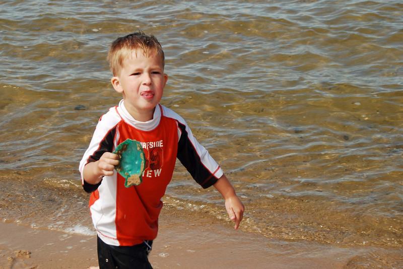 1446 Ivan at the Lake Huron beach in Cheboygan.jpg
