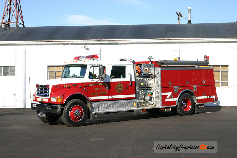 York Haven Engine 27-2: 1999 KME/International 1250/1000