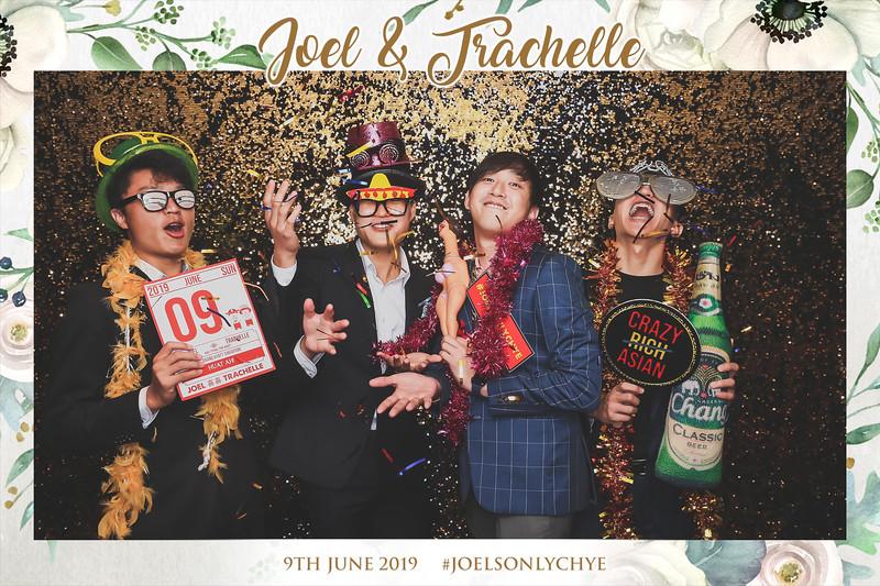 Wedding of Joel & Trachelle   © www.SRSLYPhotobooth.sg