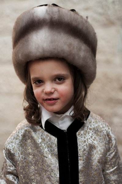 Portrait of a Jewish boy.