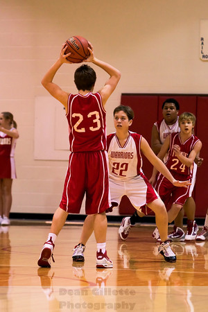 8th Grade Boys Bball v Fremont