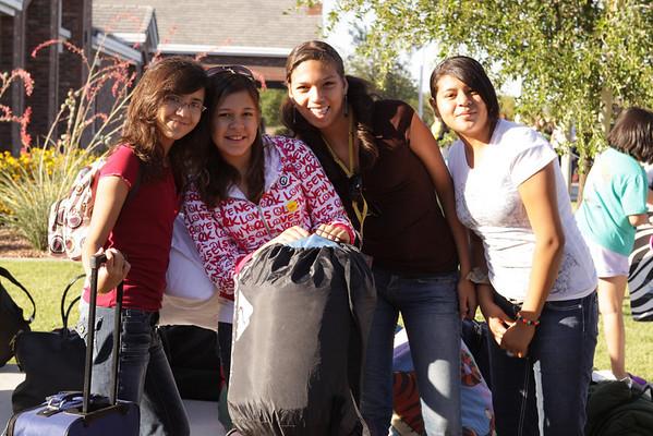 Girls Camp 2010-First day