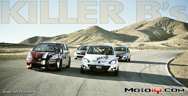 Killer B's, Honda and Mazda to Release B Segment Racer