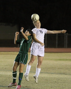 2010-2011 GHS Girls Soccer vs Basha