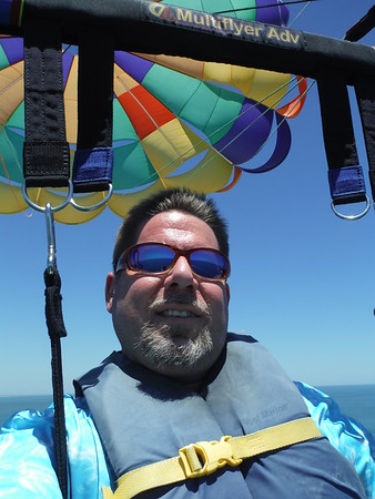 Parasailing in St. Augustine on May-9-2017