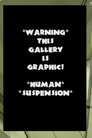 HUMAN SUSPENSION - GRAPHIC - 2015 Baltimore Tattoo Convention, April 10, 2015