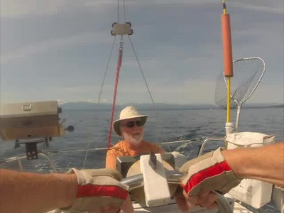 Sailing from Campbell River to Vancouver