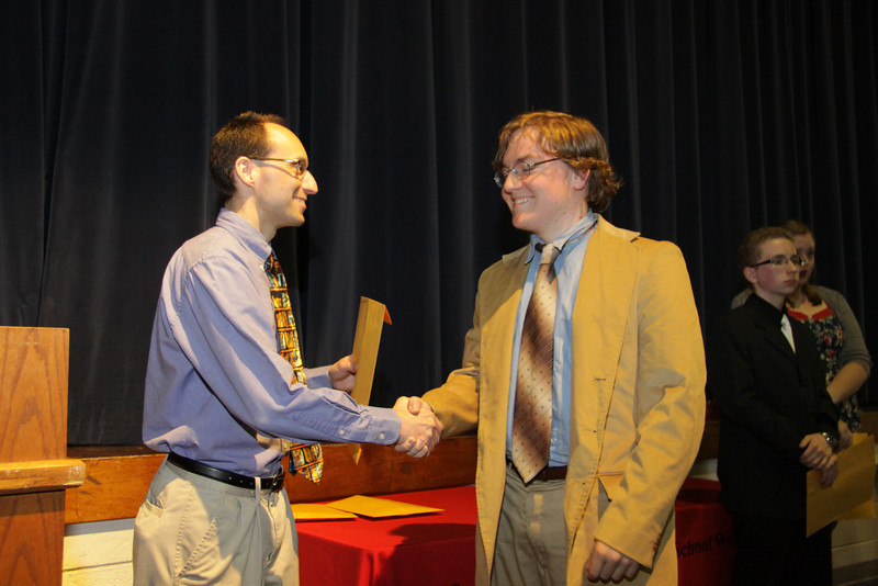 Awards Night 2012: Student of the Year - Economics & Psychology