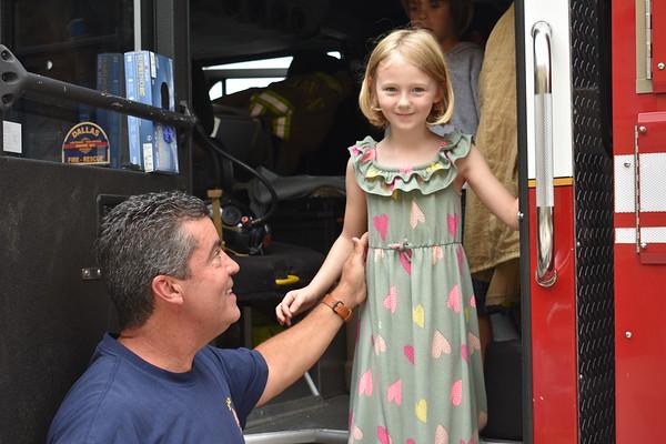 Kindergarten Visit from Fire Department