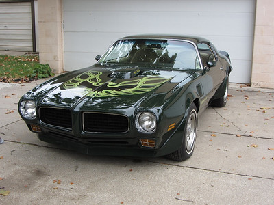 SOLD-1973 Brewster Green SD-455 Trans Am for sale