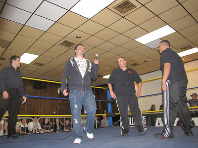 In Ring Promo: Dave Oliveira, ACW Heavyweight Champion Anthony Stone, ACW Tag Team Champion Frankie Vain and Kevin Castro