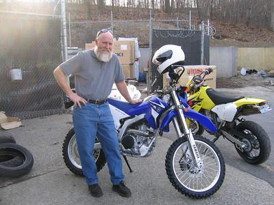my 2008 WR250R